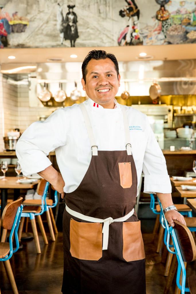 Parada Chef Carlos Altamirano